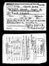 Frank Mundorff WWII Draft Registration Card